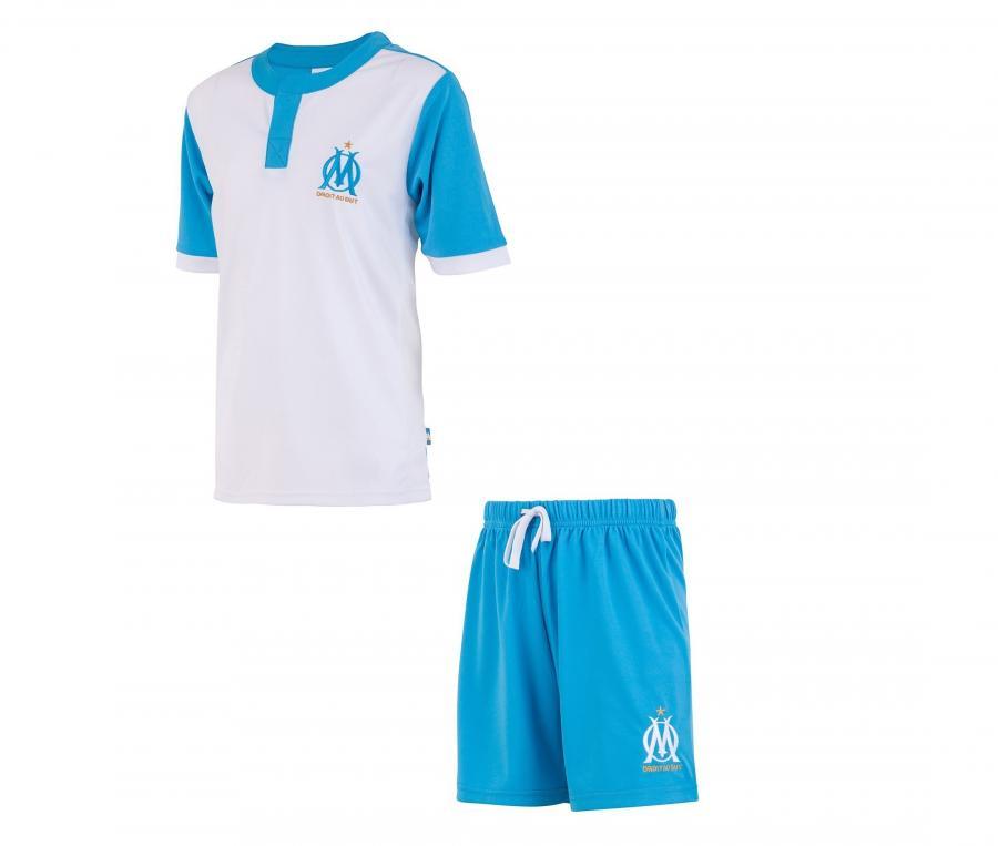 Mini Kit OM Fan Blanco/Azul Júnior