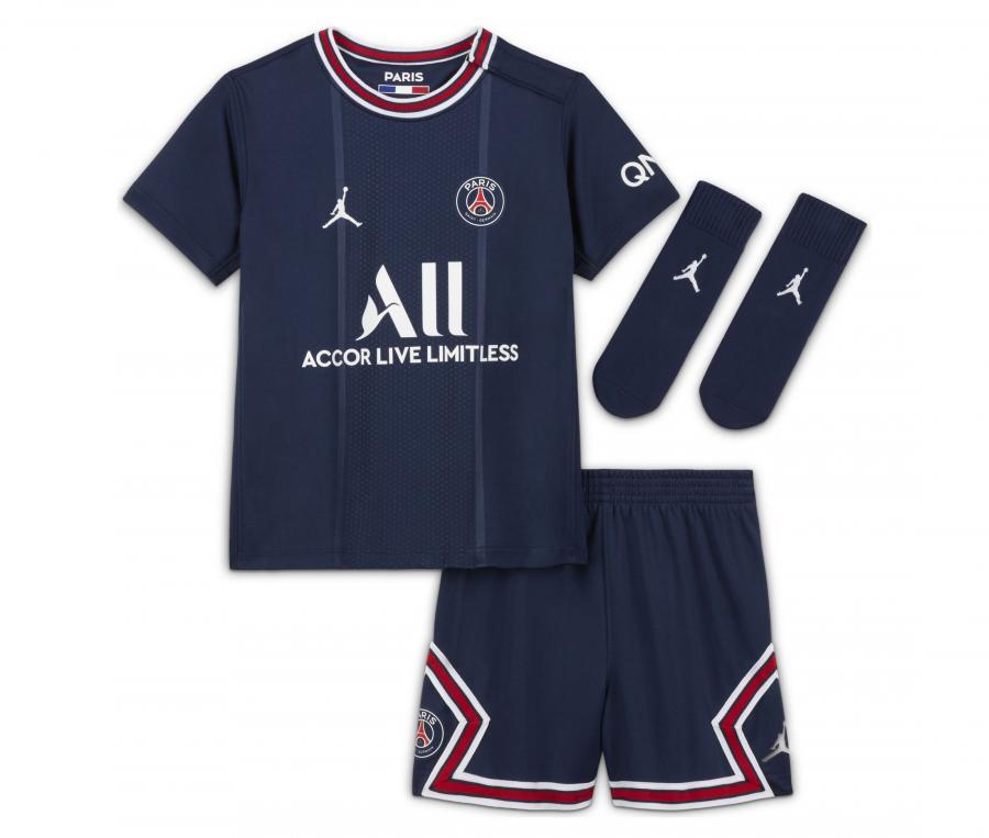 Mini Kit Jordan x PSG Domicile 2021/2022 Bébé