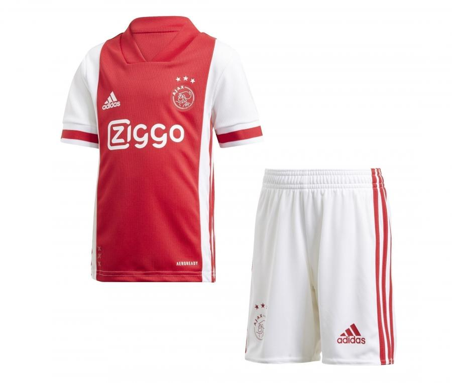 Mini Kit Ajax Amsterdam Domicile 2020/2021 Junior