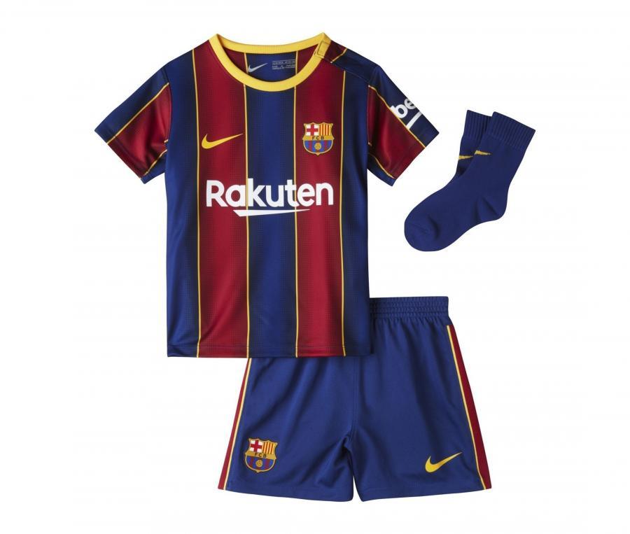 Mini Kit Barça Domicile 2020/2021 Bébé