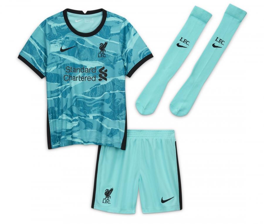 Mini Kit Liverpool Extérieur 2020/2021 Junior