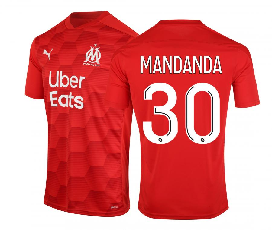 2020/21 OM Stadium Goalkeeper Mandanda Men's Football Shirt