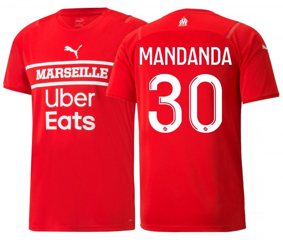 Maillot OM Gardien Mandanda 2021/2022 Junior