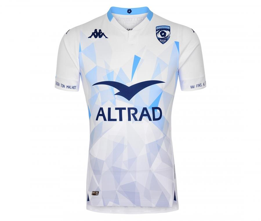 Maillot Montpellier Herault Rugby Extérieur 2020/2021
