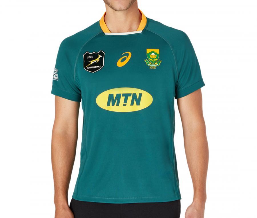 Maillot Afrique du Sud Lions Series Global Domicile 2021
