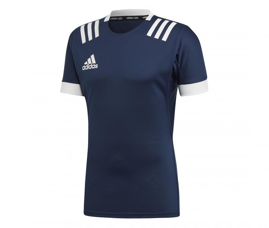 Maillot 3 Stripes Collegiate Bleu