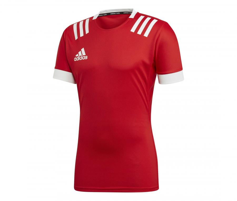 Maillot adidas 3 Stripes Rouge