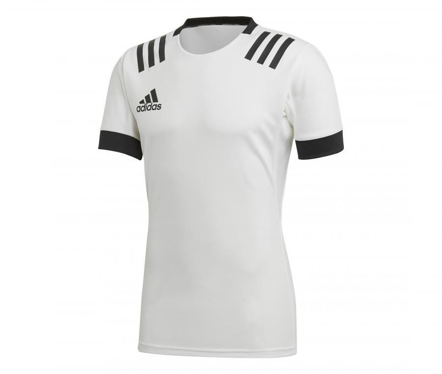 Maillot adidas 3 Stripes Blanc