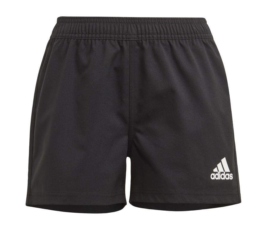Short adidas Rugby 3-Stripes Noir Junior