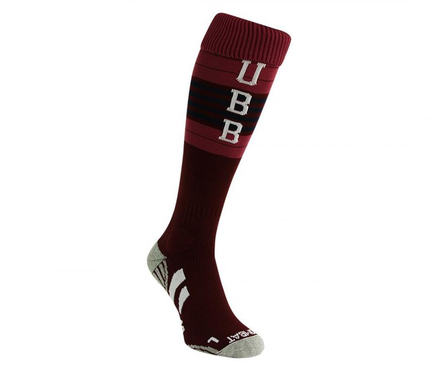 Chaussettes UBB rugby Third violet