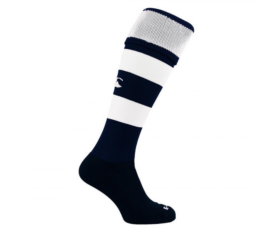 Chaussettes de jeu Team Hooped bleu/blanc