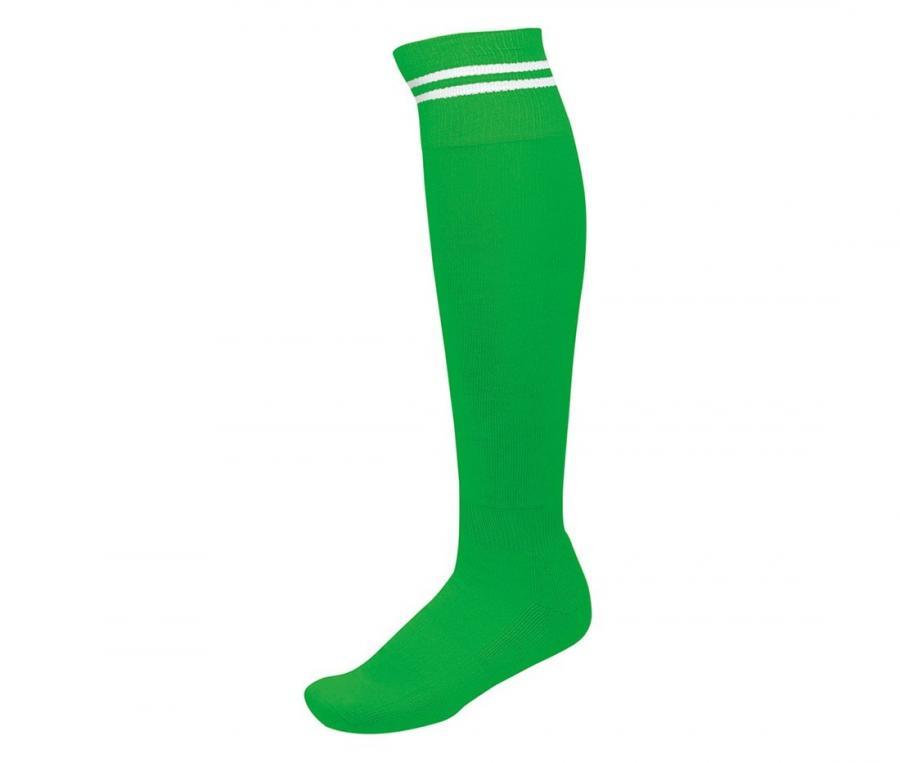 Chaussettes de rugby Compétition Vert/Blanc