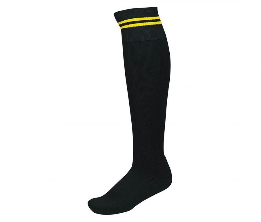 Chaussettes de rugby Compétition Noir/Jaune