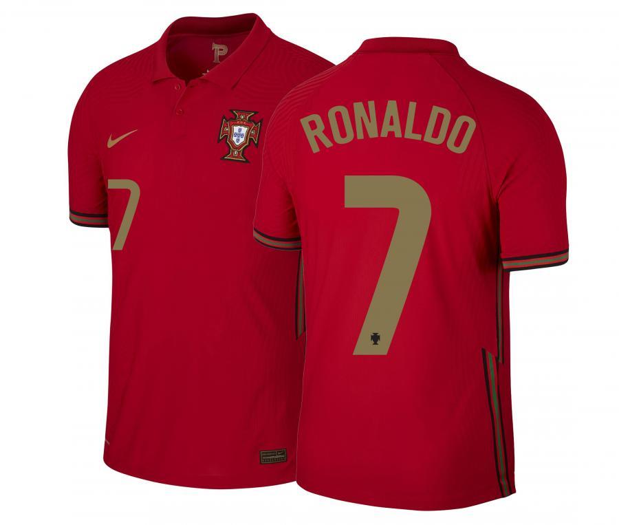 Maillot Match RONALDO 7 Portugal Domicile EURO2020