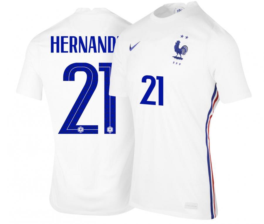 Maillot France Extérieur HERNANDEZ 2021-2022
