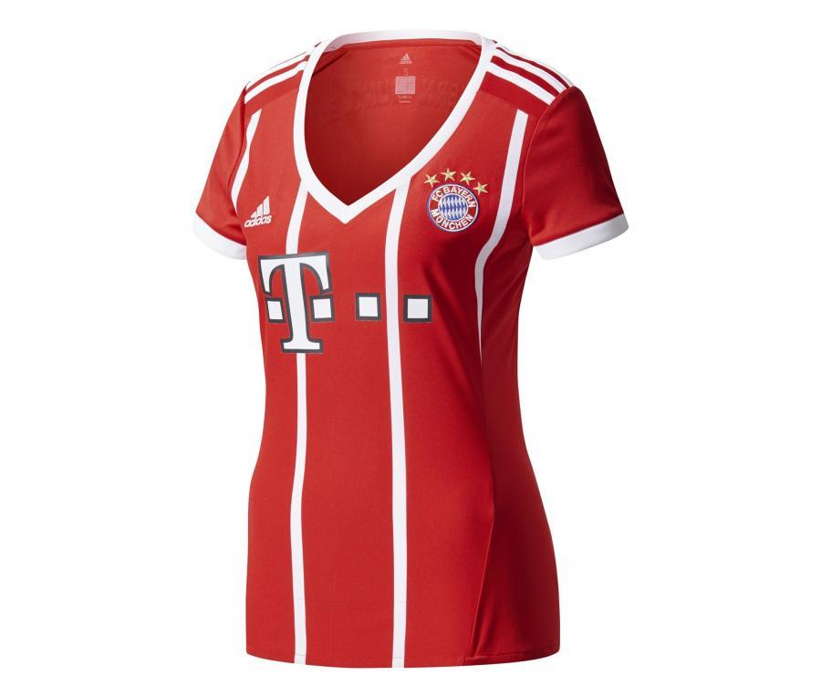 Maillot Bayern Munich Domicile 2017/18 Femme