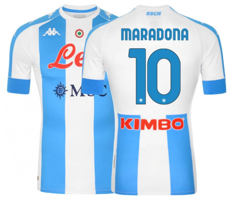 Quatrième Maillot Napoli Pro Maradona 2020/2021