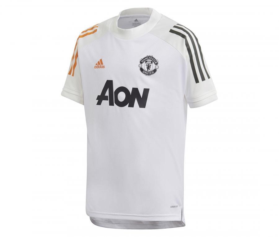 Maillot Entraînement Manchester United Blanc Junior
