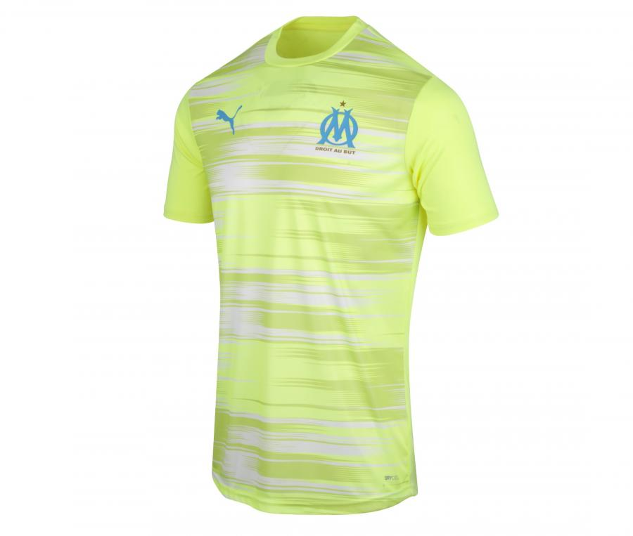 OM Training Stadium Kid's Football Top Yellow