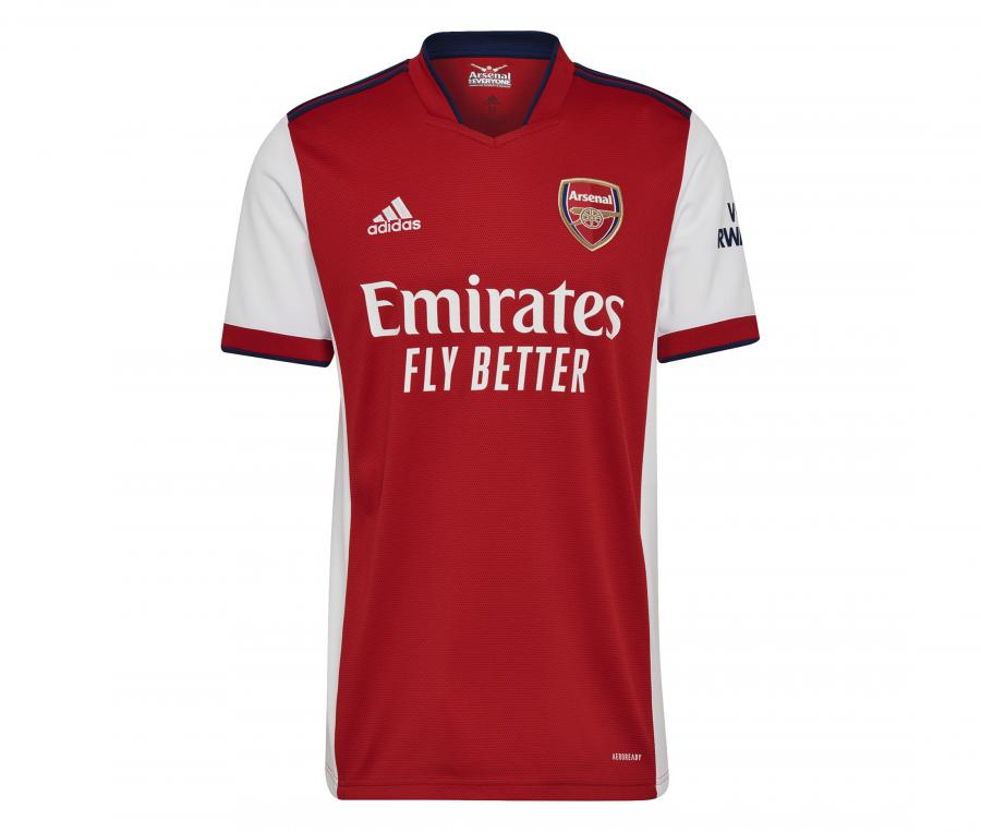 Maillot Arsenal Domicile 2021/2022