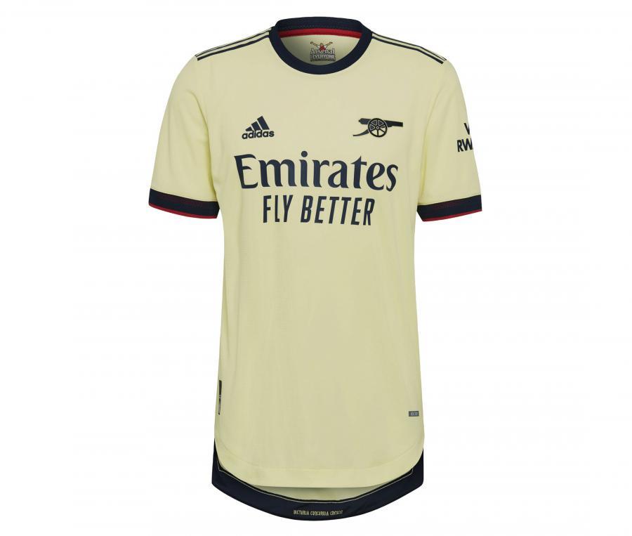 Maillot Authentique Arsenal Extérieur 2021/2022