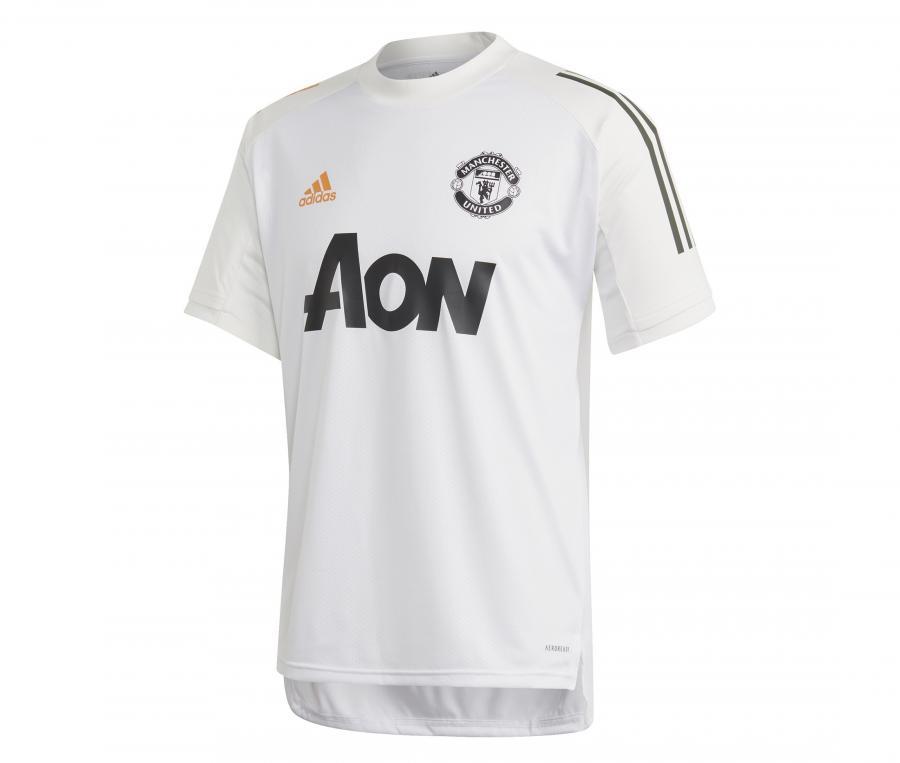 Maillot Entraînement Manchester United Blanc