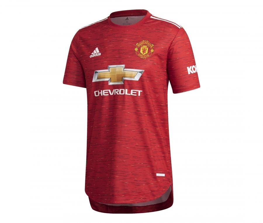 Maillot Authentique Manchester United Domicile 2020/2021
