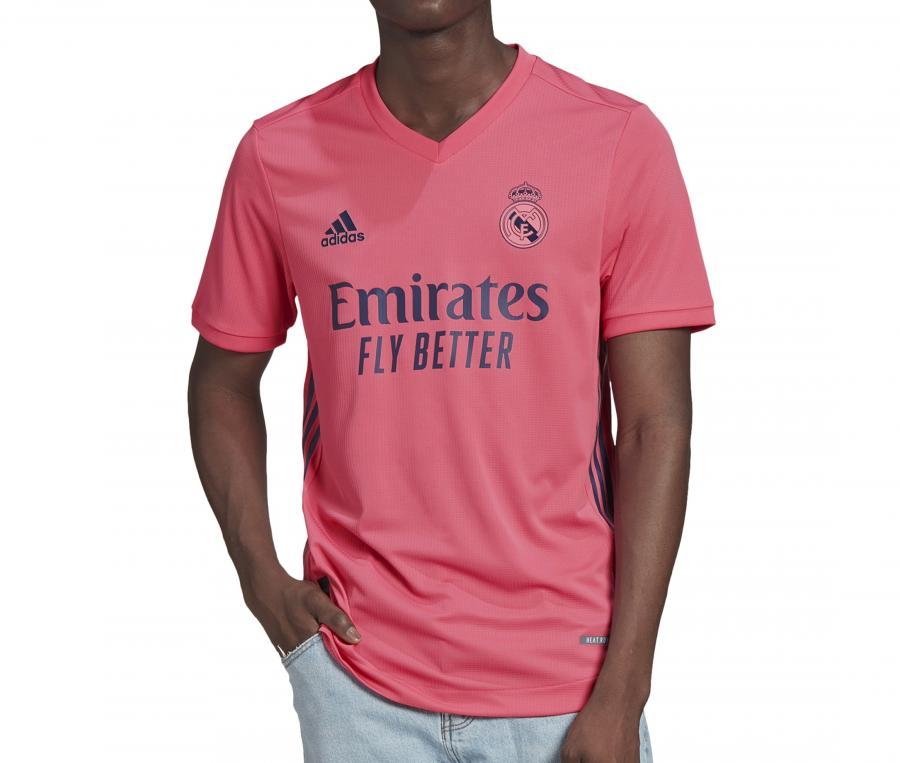 Maillot Authentique Real Madrid Extérieur 2020/2021