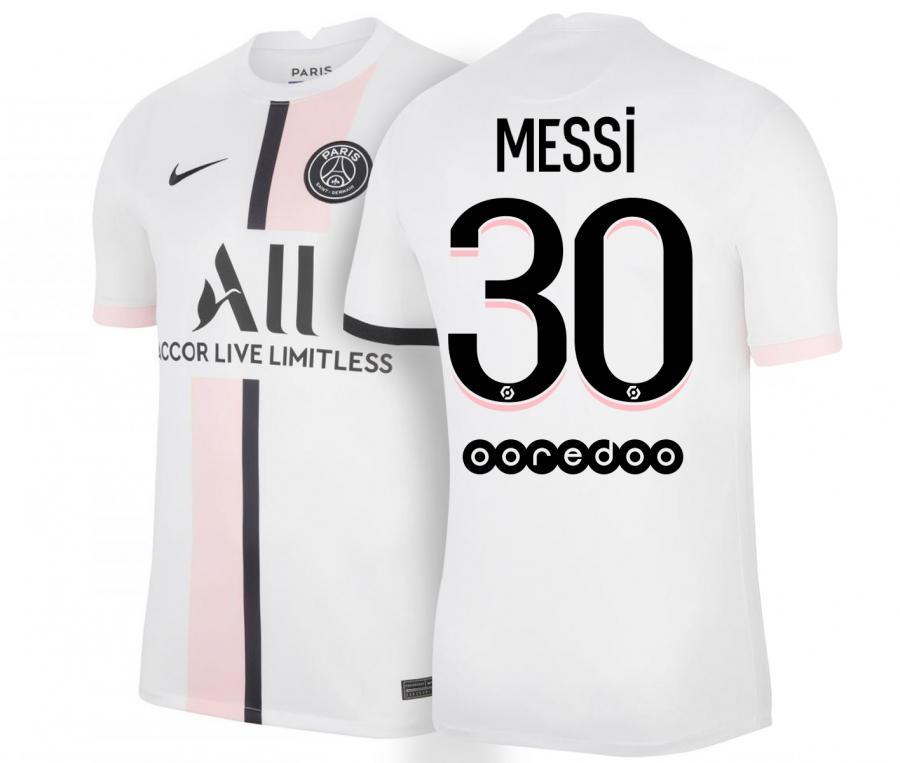 Maillot PSG Extérieur Messi 2021/2022