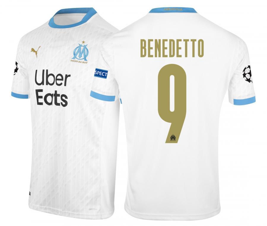 Camiseta OM Local Europa Benedetto 2020/2021