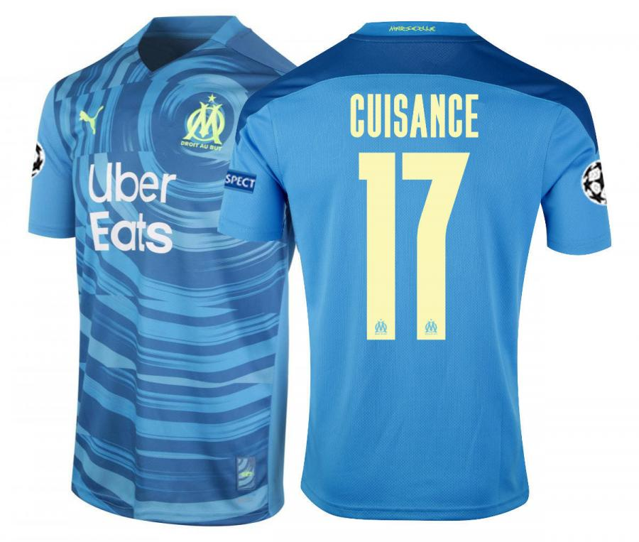 Maillot OM Third Europe Cuisance 2020/2021