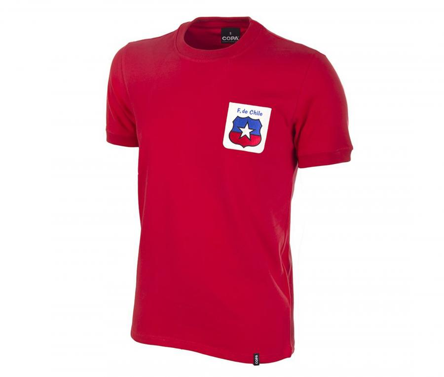 Maillot Vintage Chili 1974 Rouge