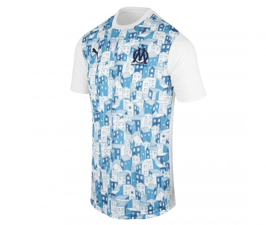 Camiseta de Entrenamiento OM Stadium Blanco