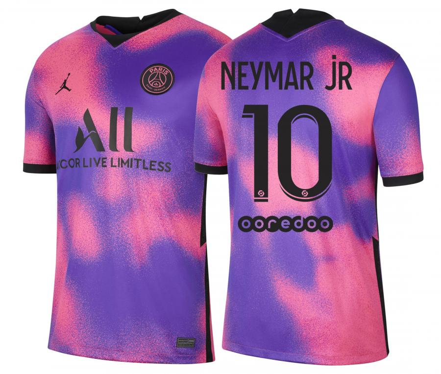 Maillot Jordan x PSG Fourth Neymar 2020/2021 Junior