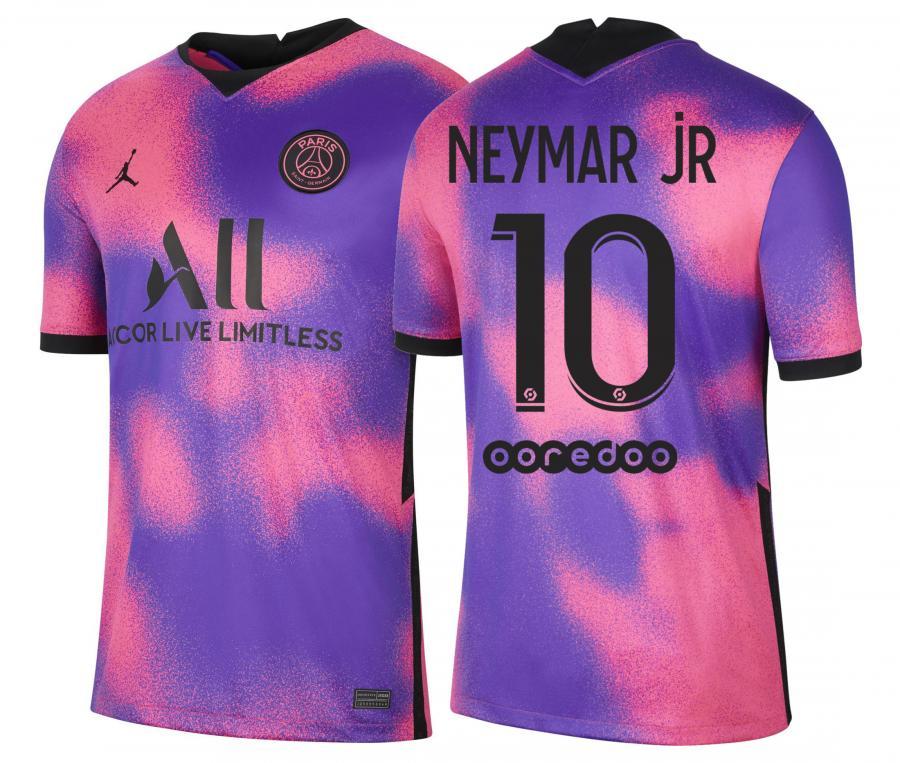 Maillot Jordan x PSG Fourth Neymar 2020/2021