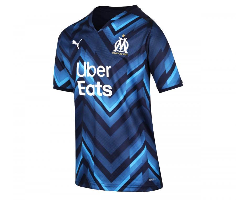 Camiseta OM Visitante 2021/2022 Júnior