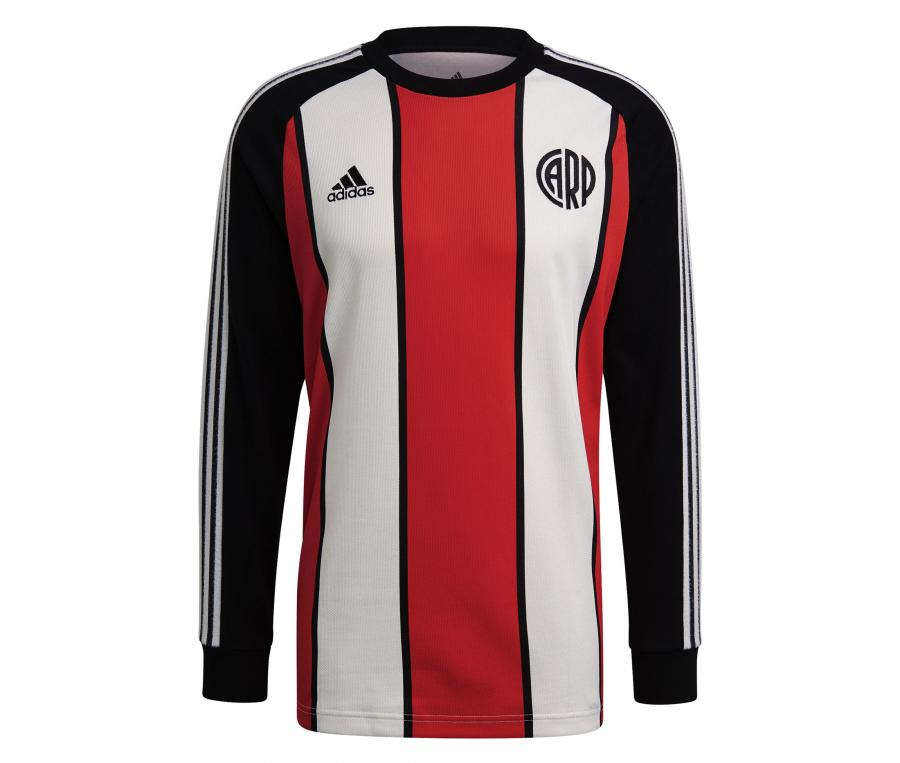 Sweat-shirt River Plate Icons Rouge/Noir/Blanc