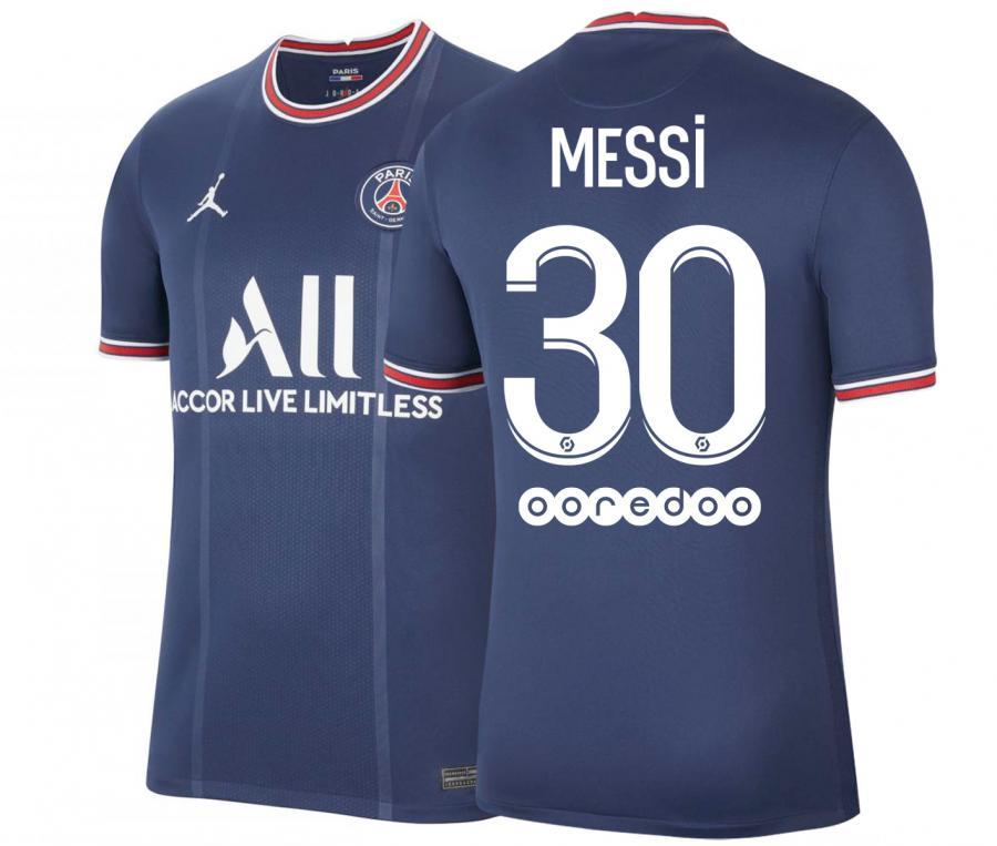 Maillot Jordan x PSG Domicile Messi 2021/2022