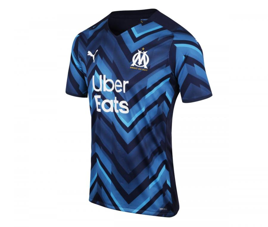 2021/2022 OM Authentic Away Men's Football Shirt
