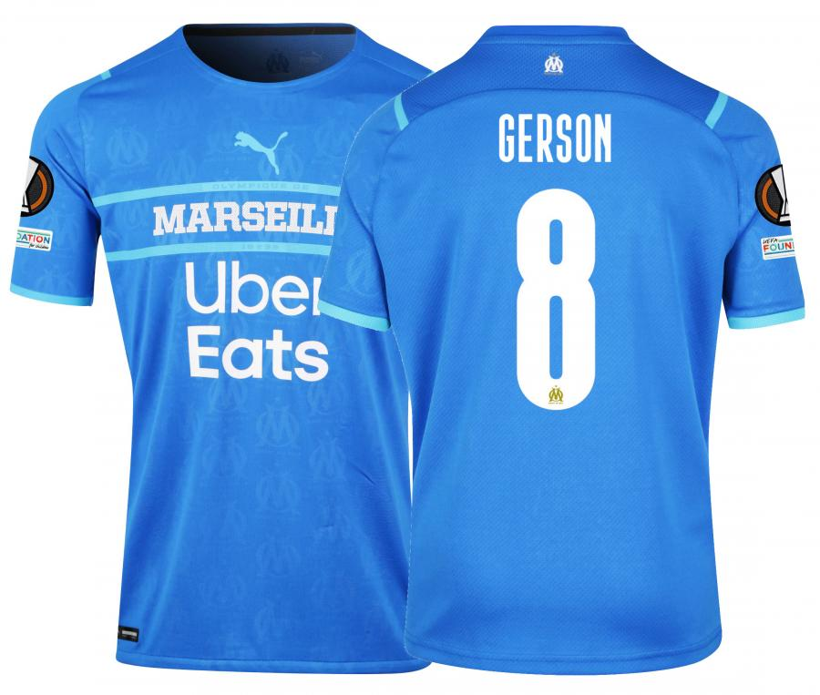 Maillot Authentique OM Third Europe Gerson 2021/2022