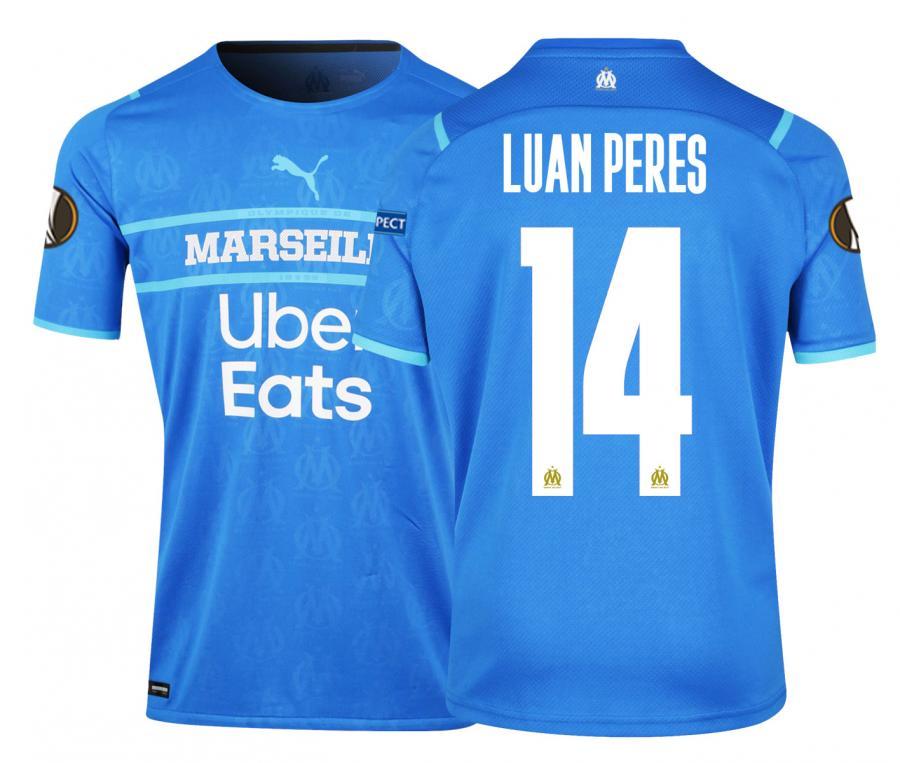 Camiseta Auténtica OM Third Europa Luan Peres 2021/2022