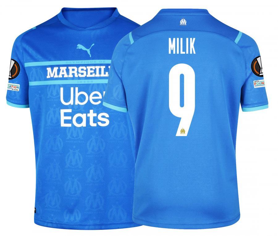 Maillot OM Third Europe Milik 2021/2022