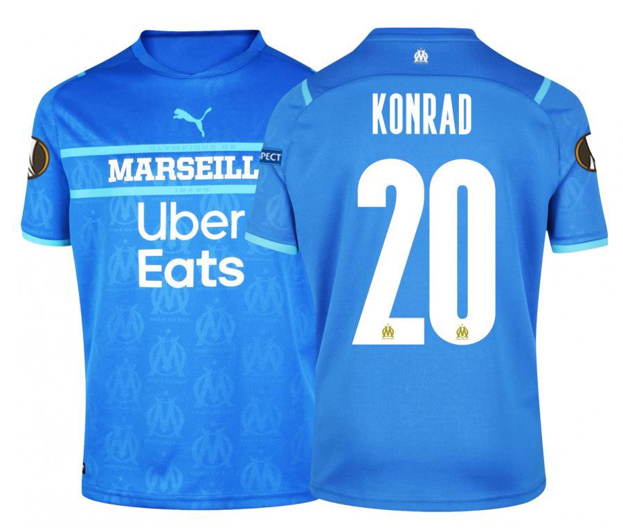 2021/2022 OM Third Men's Football Shirt Europe Konrad