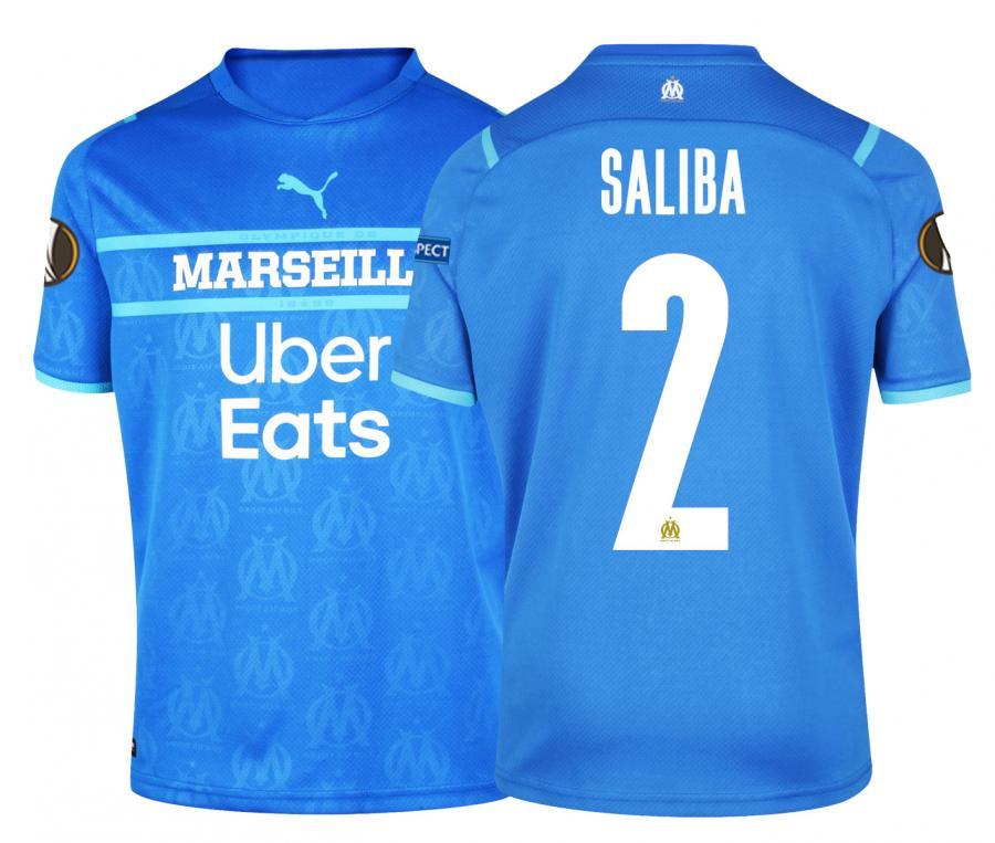 Camiseta OM Third Europa Saliba 2021/2022