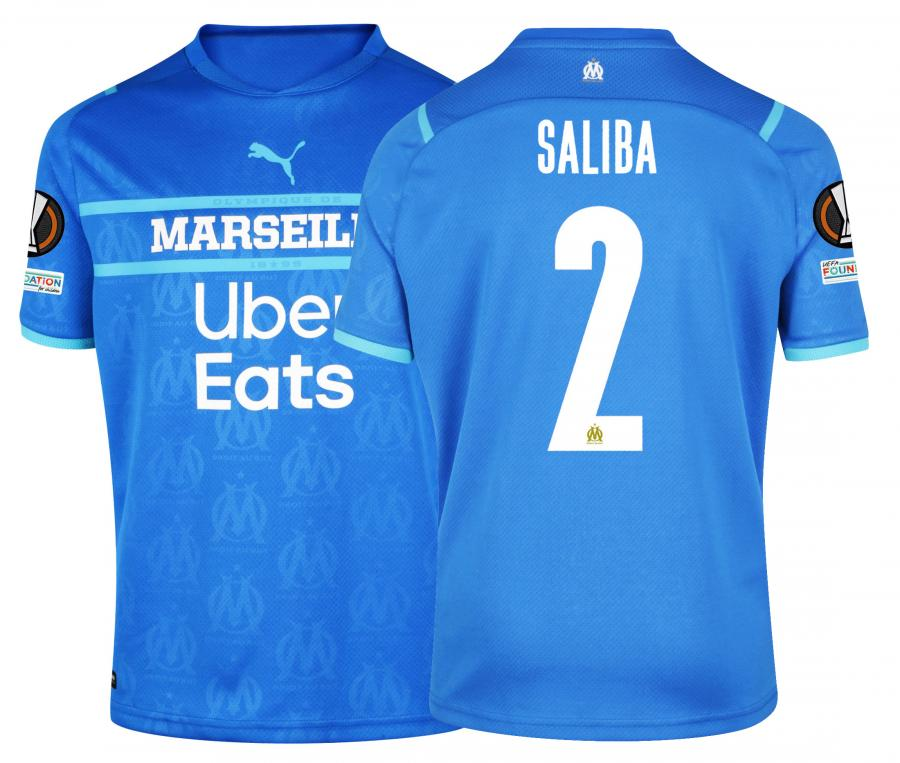 Maillot OM Third Europe Saliba 2021/2022