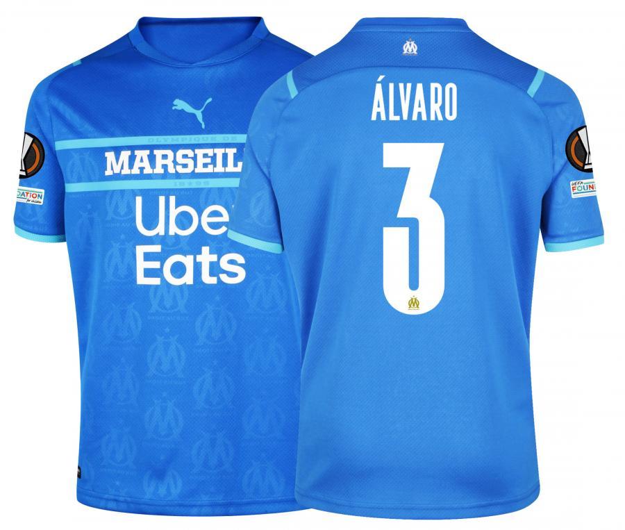 Maillot OM Third Europe Álvaro 2021/2022