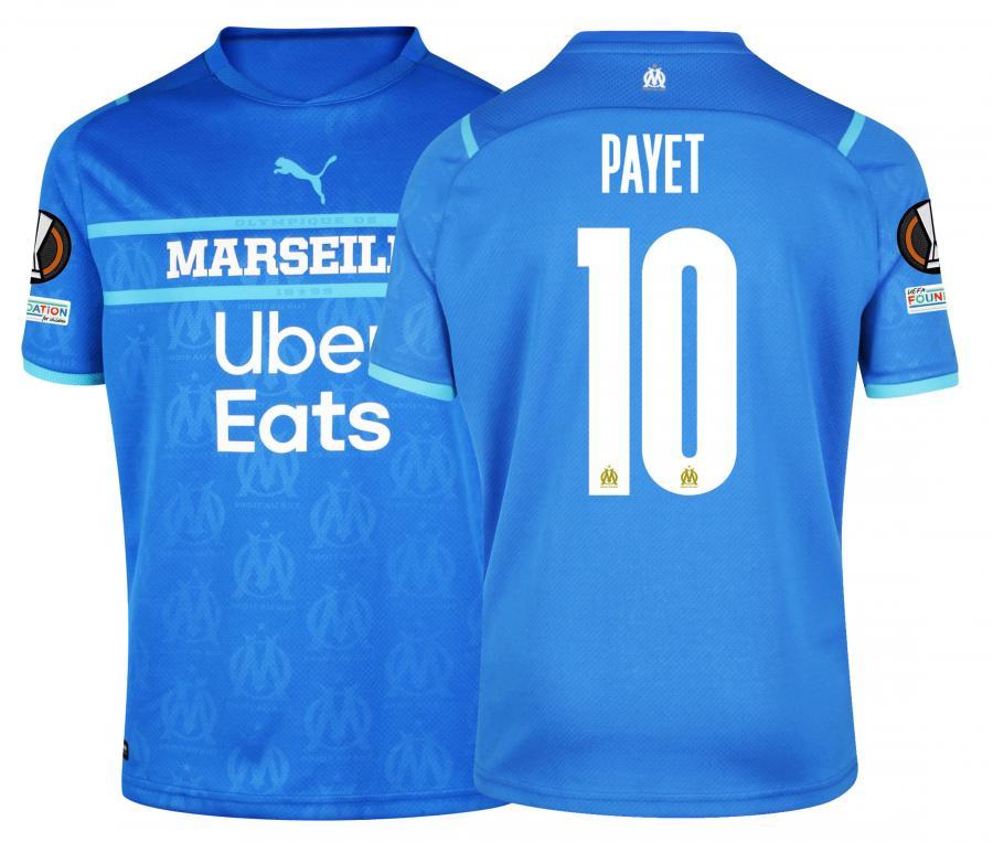 Maillot OM Third Europe Payet 2021/2022