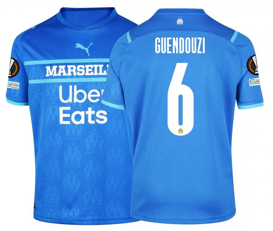 Maillot OM Third Europe Guendouzi 2021/2022
