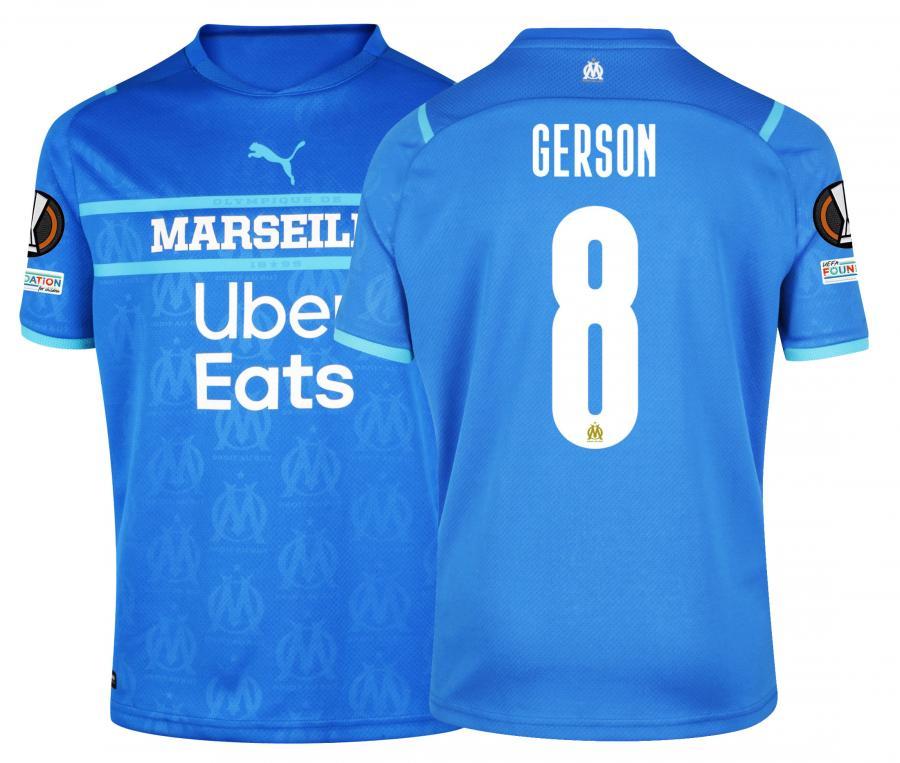Maillot OM Third Europe Gerson 2021/2022
