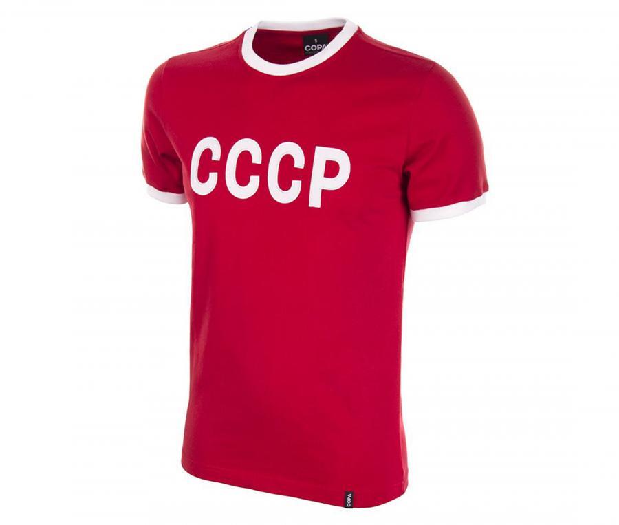 Maillot Vintage CCCP 1970 Rouge